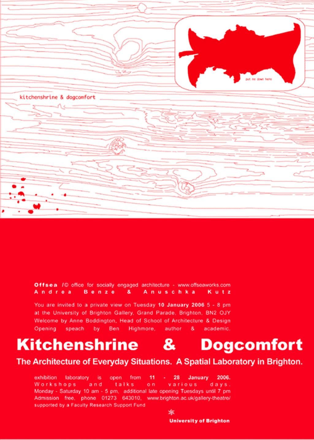offsea. Kitchenshrine & Dogcomfort_Brighton